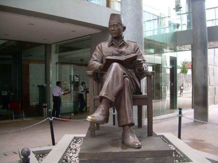 Museum Bung Karno Bagian Patung Soekarno