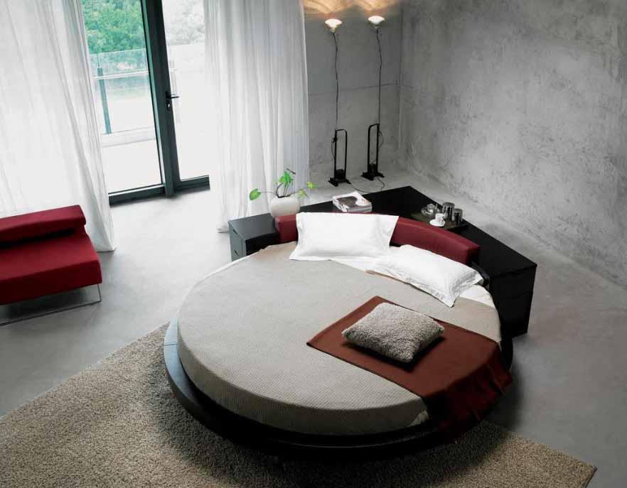 Tempat Tidur Bulat