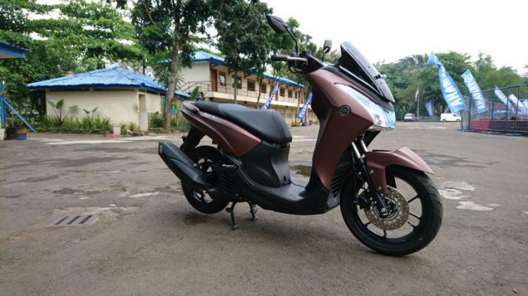 Yamaha Lexi S Tipe Tertinggi
